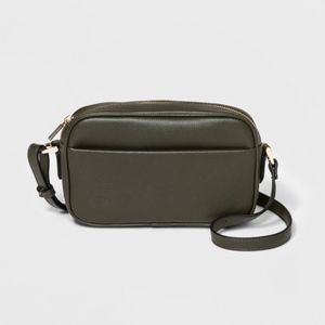 NWT A New Day camera convertible crossbody bag